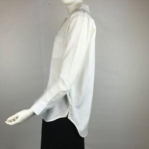 Madewell White Cotton Shirt XXS